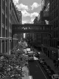 Alto-line di Nyc fotografia stock libera da diritti