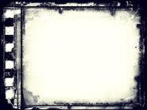 Marco de película del Grunge con el espacio para el texto o la imagen Fotografía de archivo