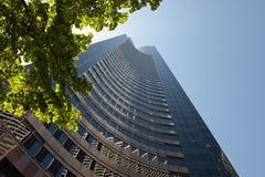 alto moderno di costruzione Fotografia Stock