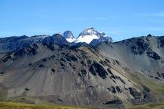 Alto Mountain View roccioso Fotografia Stock