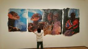 Alto museo de la exposición de Art Afro Cuban Fotos de archivo
