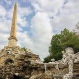 Alto obelisco imágenes de archivo libres de regalías