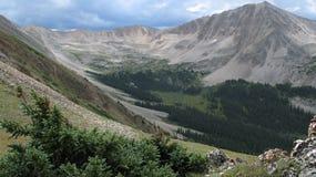 Alto paese del Colorado Immagine Stock