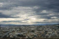Alto paisaje del desierto Imágenes de archivo libres de regalías