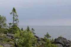 Alto patrimonio mondiale della costa Fotografie Stock