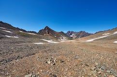 Alto plateau del deserto di pietra in Siberia orientale Immagine Stock Libera da Diritti
