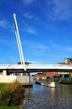 Alto ponte del frutteto, Gloucester Fotografia Stock
