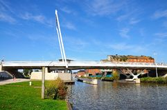 Alto ponte del frutteto, Gloucester Fotografia Stock Libera da Diritti