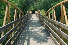 Alto puente de las caídas Imagenes de archivo