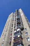 alto residenziale di costruzione Immagini Stock Libere da Diritti