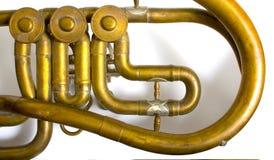 Alto Sax horn Stock Image