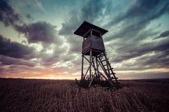 Alto sedile di caccia Fotografie Stock Libere da Diritti