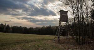 Alto sedile nella natura Fotografie Stock Libere da Diritti