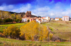 Alto Tajo in autumn, Spain Stock Photos