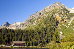 Alto Tatra Fotografia Stock