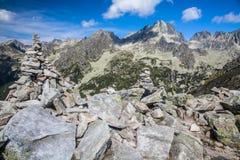Alto Tatras da Ostrva, Slovacchia Immagine Stock Libera da Diritti