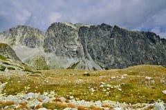 Alto Tatras en Eslovaquia Foto de archivo