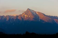 Alto Tatras, Slovacchia immagine stock libera da diritti