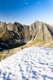 Alto Tatras, Slovacchia Immagini Stock