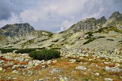 Alto Tatras in Slovacchia Immagine Stock