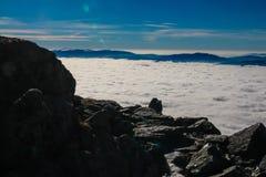 Alto tatry - trayectoria de Krivan Fotos de archivo