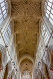 Alto techo decorativo de la iglesia fotos de archivo libres de regalías