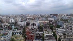 Alto tejado de la vista Imagen de archivo