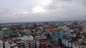 Alto tejado de la vista Fotografía de archivo
