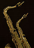Alto And Tenor Sax 2 Stock Image