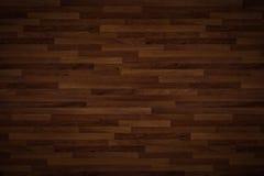 Alto textura de madera del piso de la calidad usada como fondo - lineas horizontales Imágenes de archivo libres de regalías
