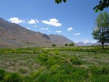 Alto valle del spity del desierto fotos de archivo libres de regalías