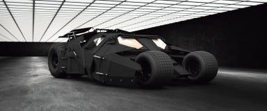 Alto vaso del res 3D batmobile libre illustration