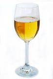Alto vetro con birra ambrata Immagini Stock Libere da Diritti