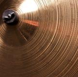 Alto vicino del Cymbal Fotografia Stock