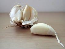 Alto vicino dell'aglio immagine stock