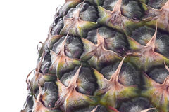 Alto vicino dell'ananas Fotografia Stock