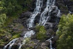 Alto vicino della cascata Immagine Stock