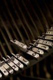 Alto vicino della macchina da scrivere Fotografia Stock Libera da Diritti