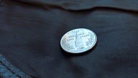 Alto vicino della moneta Fotografia Stock Libera da Diritti