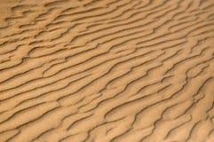 Alto vicino della sabbia Fotografie Stock Libere da Diritti