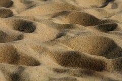 Alto vicino della sabbia Immagini Stock Libere da Diritti