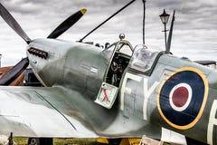 Alto vicino delle spitfire fotografia stock