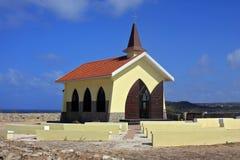 Alto vista chapel. Portrait of alto vista chapel in aruba Royalty Free Stock Photos