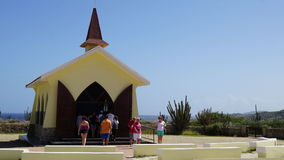 Alto Vista Chapel in Aruba Royalty Free Stock Photography