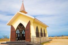 Alto Vista Chapel Aruba Stock Image