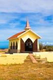 Alto Vista Chapel Aruba. Landmark Alto Vista Chapel along the Aruba Coast in Noord Stock Image