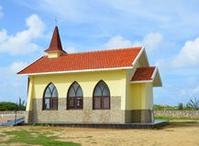 Alto Vista Chapel, Aruba Royalty Free Stock Photo