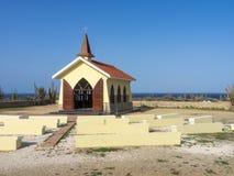 Alto Vista Chapel. Views around Aruba a small caribbean Island in the Netherland Antilles Royalty Free Stock Image
