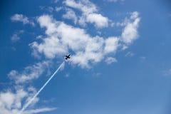 Alto volo Fotografia Stock Libera da Diritti