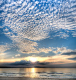 Altocumulus Royalty Free Stock Photo